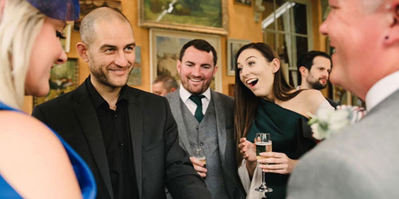 Digital IPad Magician Amazes Corporate Guests