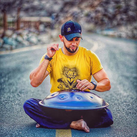 Sherif Moghazy - Handpan Player