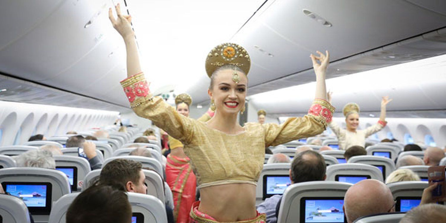 TUI Passengers Take Off In Style