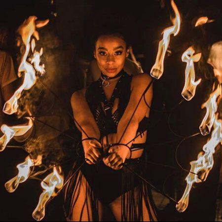 Yasmin Chadwick - Fire Performer