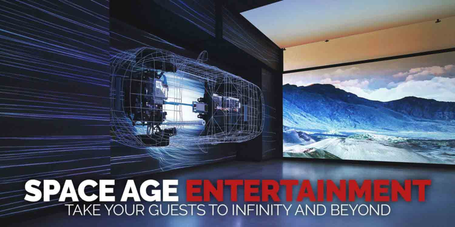 A Festive Future - Space Age Entertainment to Take Your Guests to Infinity and Beyond