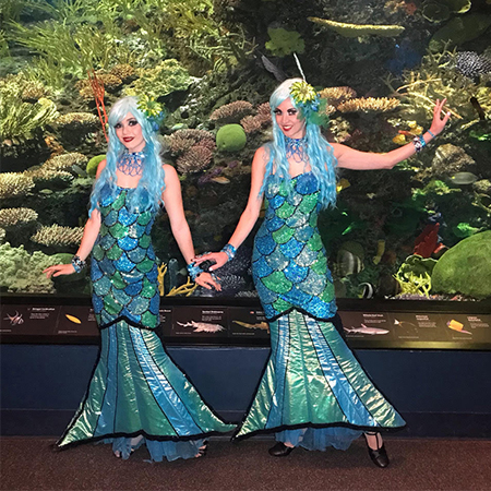 Screaming Queens - Under the Sea Characters