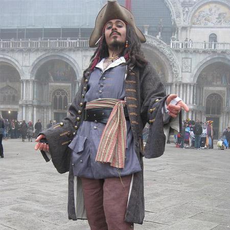 Elia Piva - Jack Sparrow Lookalike
