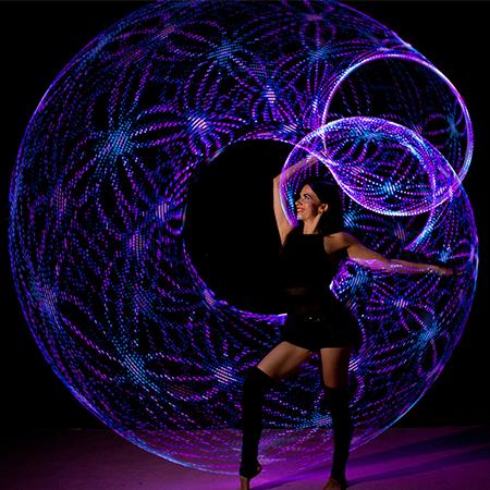 Yanika Beliza - LED Hoops