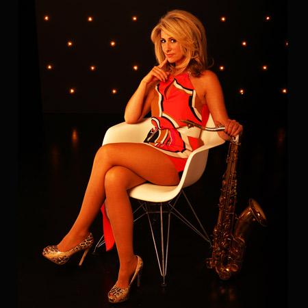 Katja Rieckermann - Female Sax Player