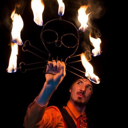 Michael Speranza - Contact Juggler and Fire/LED Artist