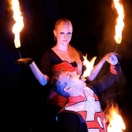 LED It Burn - Fire Show