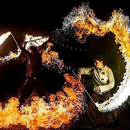 Sky Fire Arts - Fire