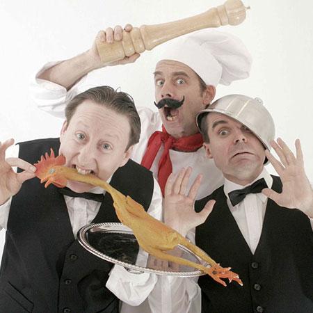 Chef & Waiters - Royal Footmen