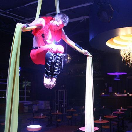 Silk Aerial Acrobatic Thailand