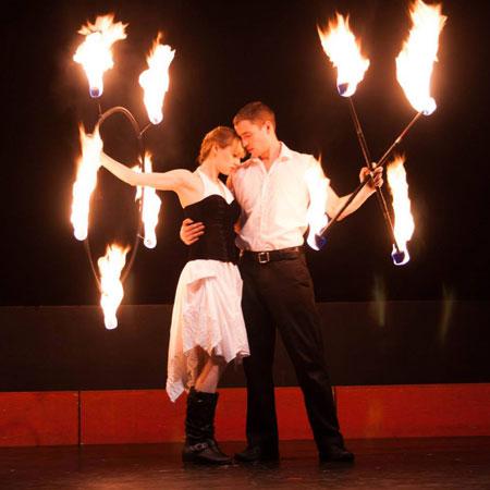 Isabella Hoops Entertainment - Fire Hula Hoop