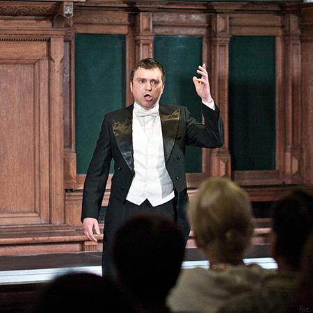 Mykola Hubchuk - Opera Singer (baritone)