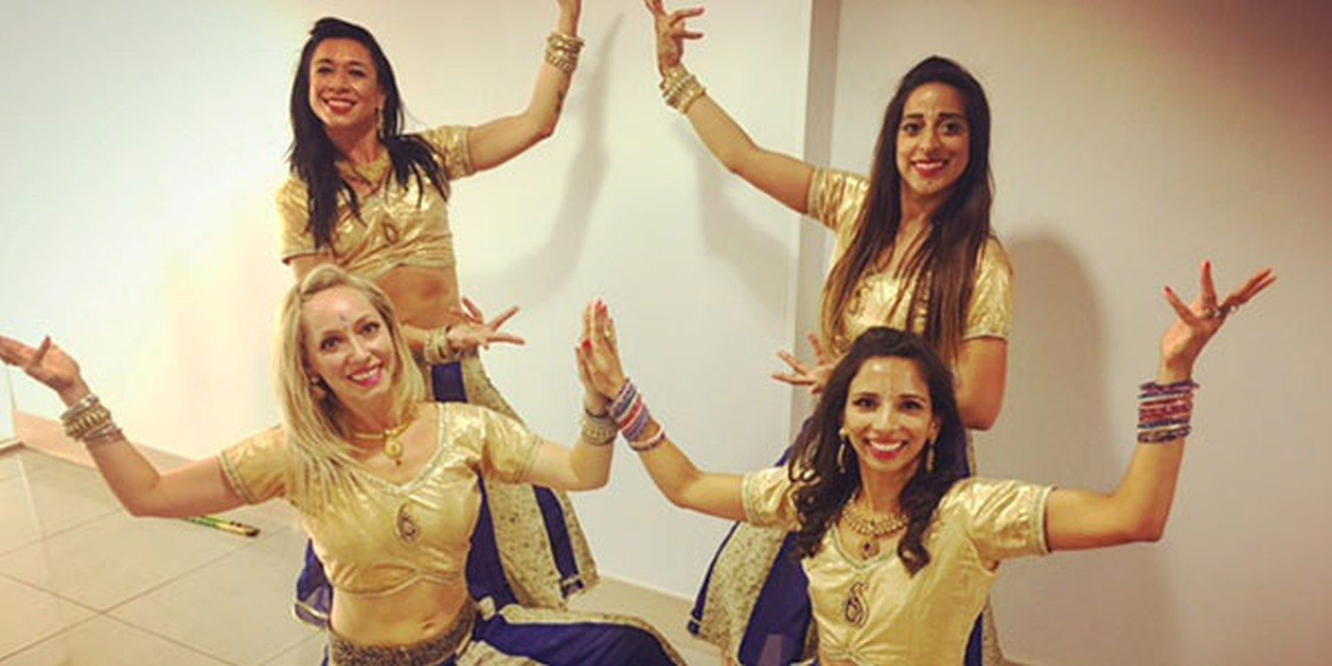 Bollywood Dancers Serve Up A Surprise Performance