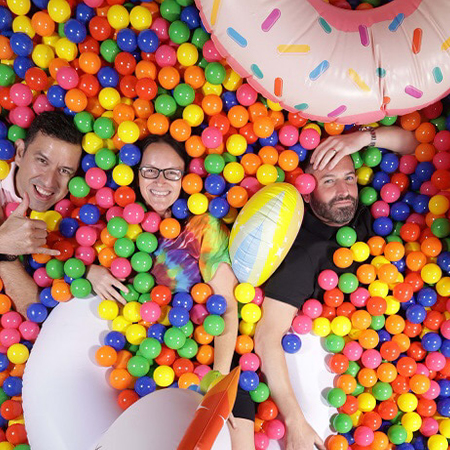 Chic Booth - Ball Pit Photo Booth