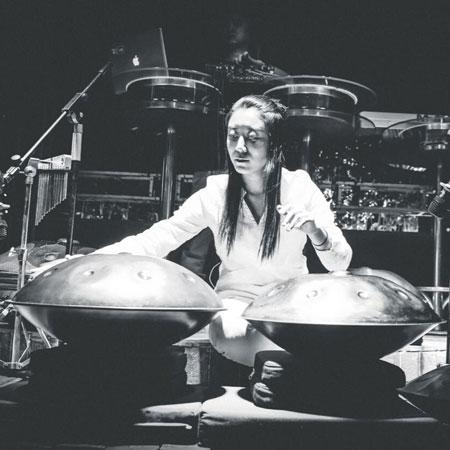 Female Hang Drum