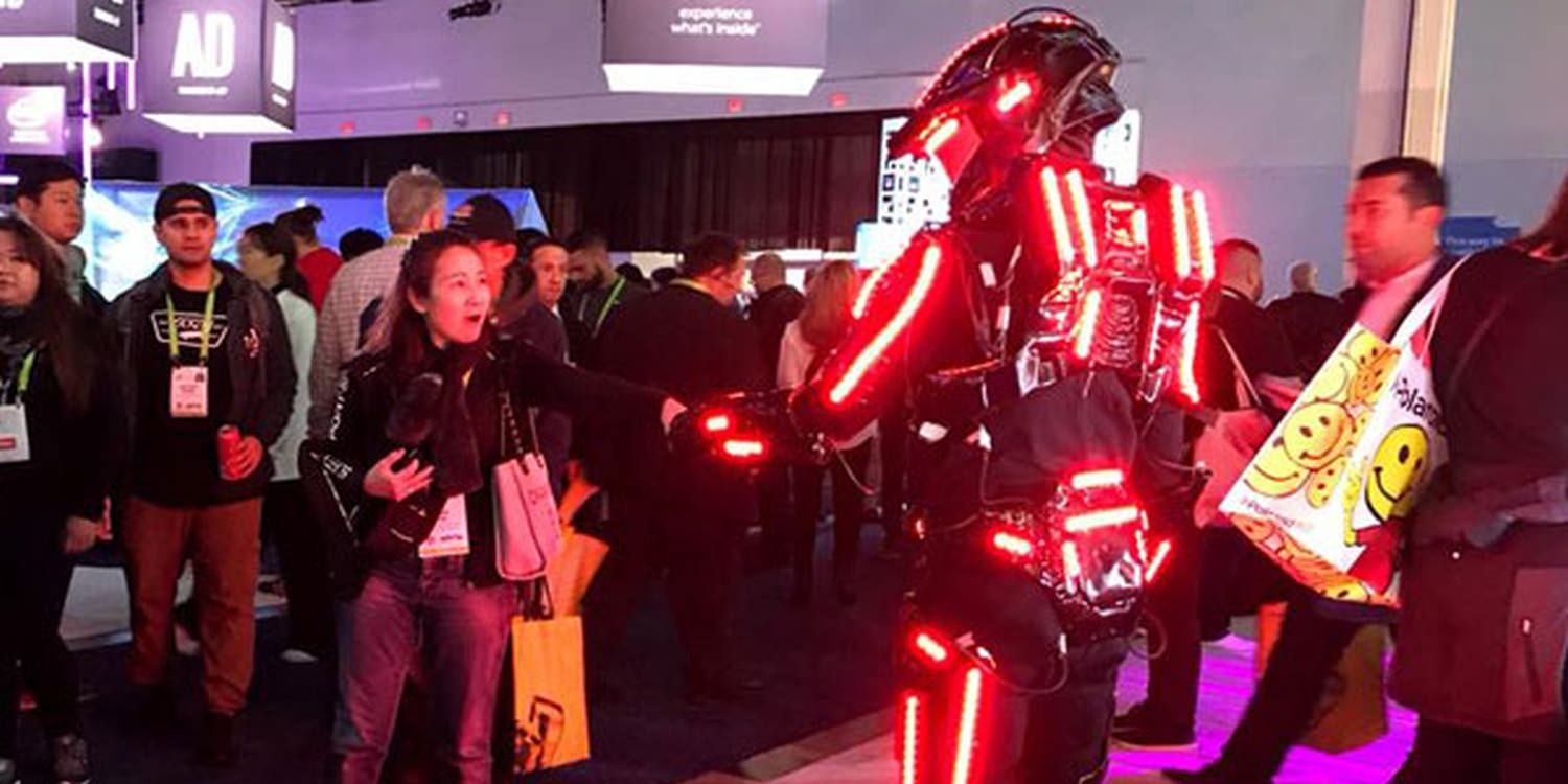 Global Entertainment Agency Lights Up CES 2018