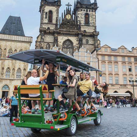 BeerBike Prague