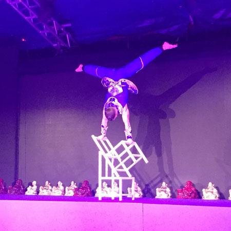 Sorcha Ra - Acrobatic Chair