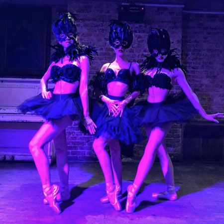 Black Orchid Ballerinas - Themed Performers