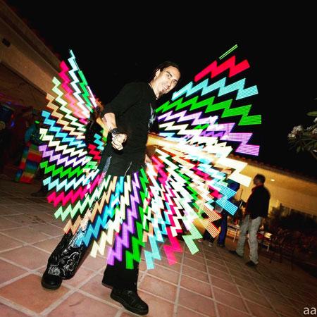 Sky Fire Arts - LED