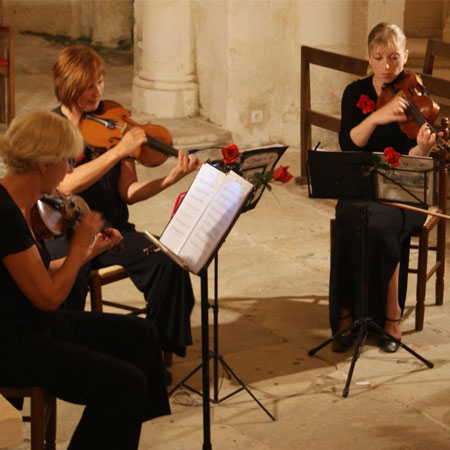 Quatuor Musique Mariages Receptions