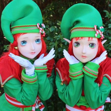 Candi Promotions - Cartoon Christmas Elves