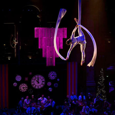 The Dream Performance - Aerial Silks & Hoop