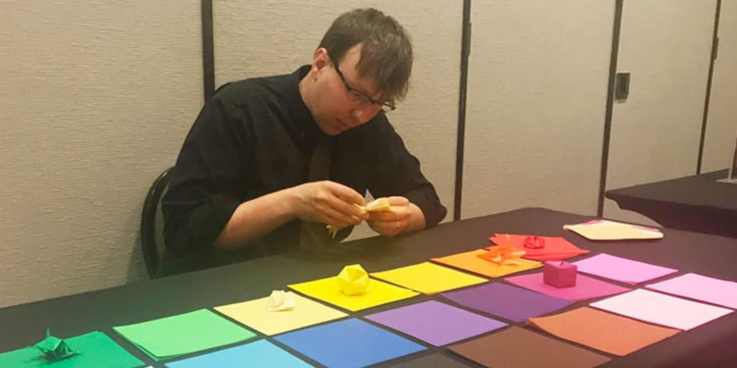 USA Origami Artist Provides A Shared Experience