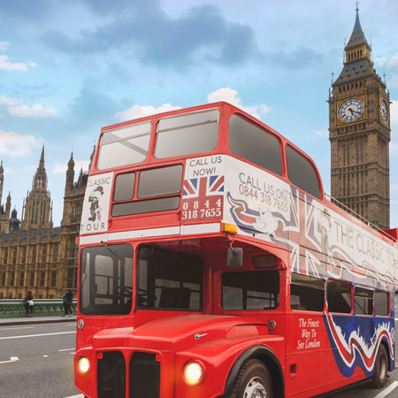 The Ghost Bus Tours - Classic Tour