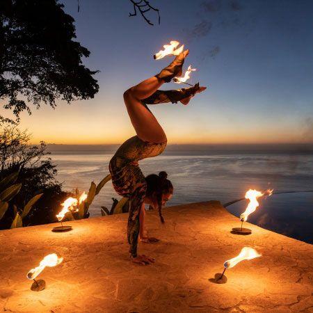Jordan Remar - Fire Contortionist