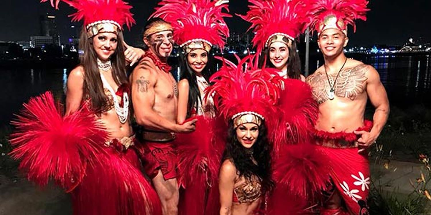 Polynesian Dancers Heat Up Corporate Event In Long Beach