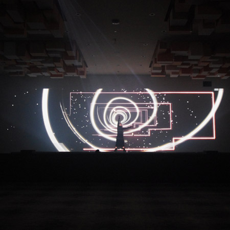 Ellipse Projects - 3D Bollas Video Mapping Dance Show