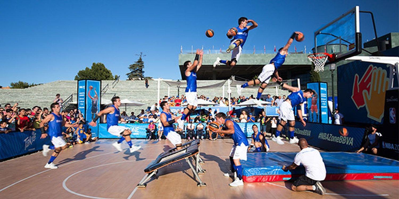 Happy Anniversary! Acrobatic Basketball Team Turns 10