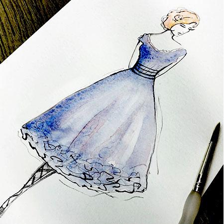 Charlotte Atkinson - Fashion Illustrator