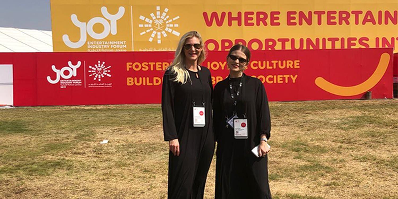 Scarlett Entertainment Expand Horizons At The Joy Forum 2019 In Saudi Arabia