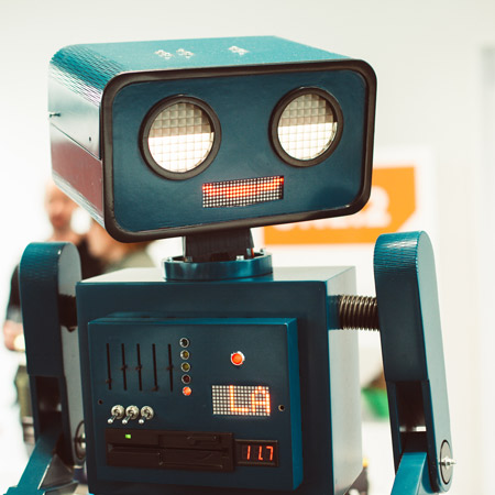 Pantomime Popkultur - Hugo der Roboter