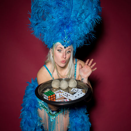 Circus Uncertainty - Showgirl Walkabout