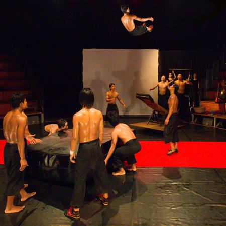 Phare, The Cambodian Circus - Teeterboard