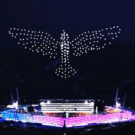 Intel Shooting Star™ Drones