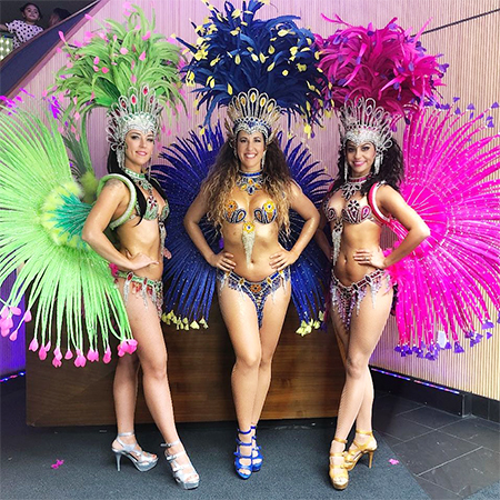 Dance Migration - Samba Dancers