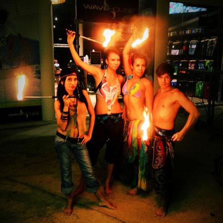Fire Twirlers Singapore