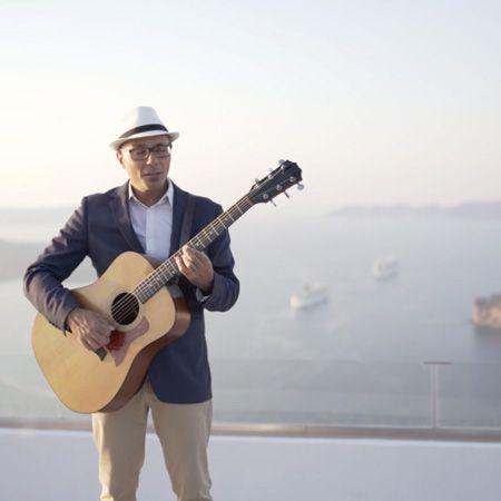 Wedding Singer Santorini