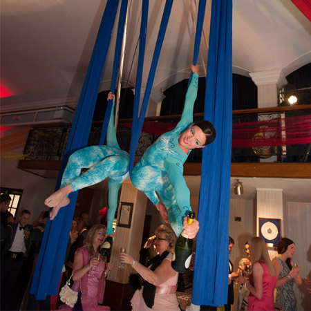 Champagne Aerialists