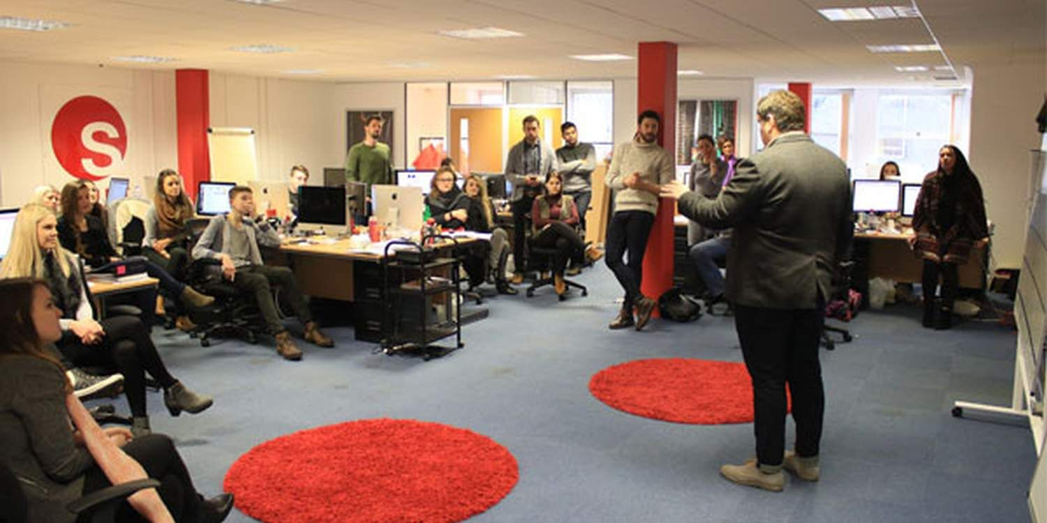 Singer Hits The High Notes At Scarlett HQ