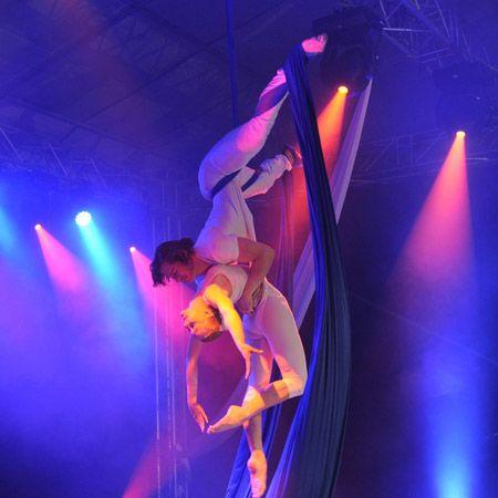 Vertigo - Aerial Acrobatic Show