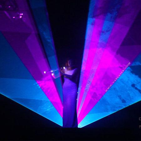 Laser Flute Show