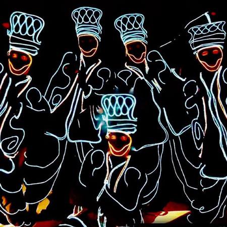 The Dance Mob - Bhangra Tron LED show