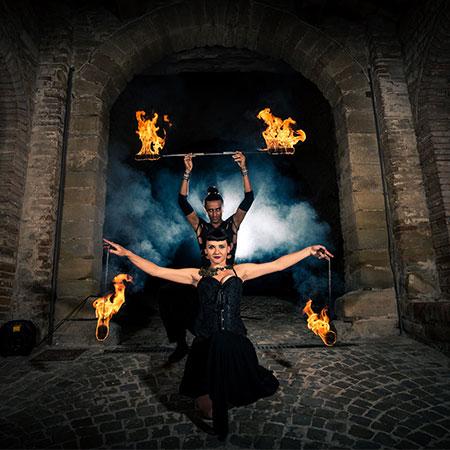 Yassin Kordoni - Burlesque Fire