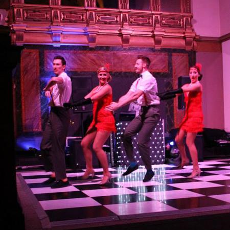 Gatsby Charleston Dancers