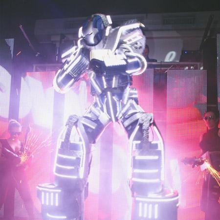Candi Promotions - LED Giant Robots